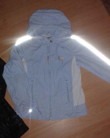 Niebieska kurtka 128/134 S.Oliver dziecięca wiosenna jesienna