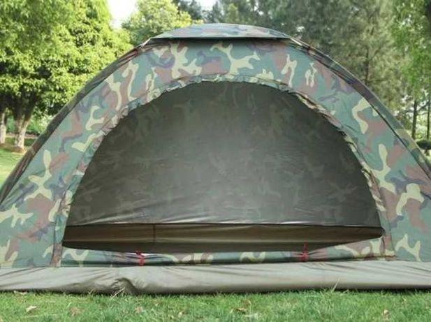 Четырехместная палатка туристическая с москитной сеткой хаки