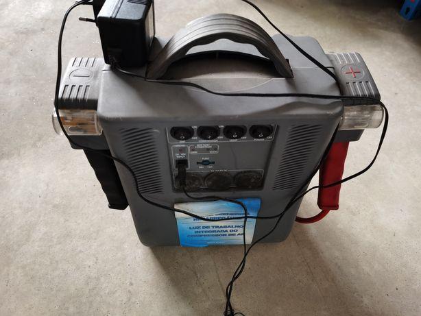 Booster + Compressor a Bateria 12v 24v