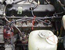 Motor Fiat 124 1968