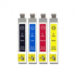 Conjunto 4 Tinteiros Compatíveis Epson 29XL - T2991/2/3/4 -BK/C/M/Y