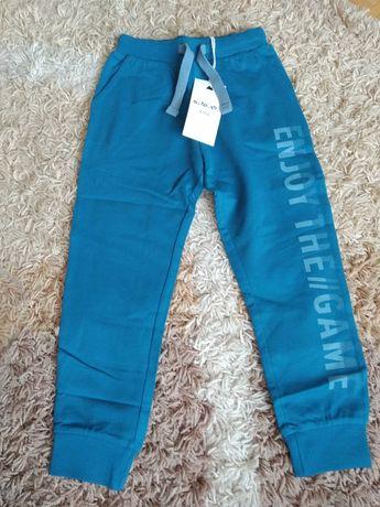 Spodnie dresowe z 5.10.15., niebieskie, rozmiar 116, nowe, dresy
