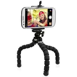 Tripé suporte maleável - para telemóvel e câmaras de filmar fotografar