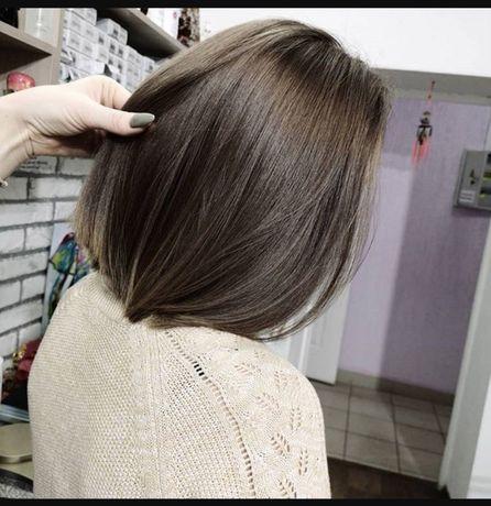 Модель волосы окрашивание покраска