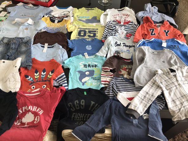T-shirts, sweats, casacos, calções, polos 12-24 meses