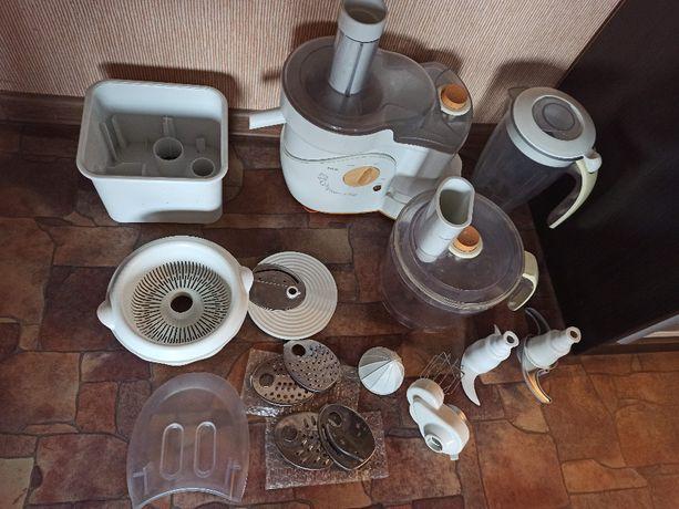 Шикарный мощный кухонный комбайн Philips