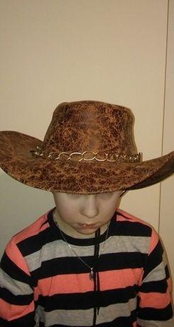 Kapelusz kowboja - przebranie