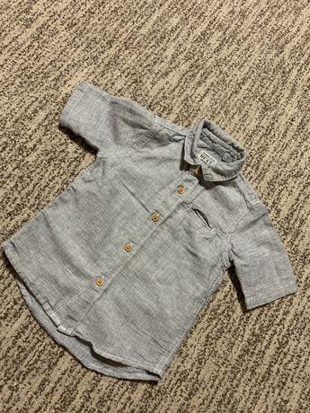 Рубашка для мальчика 9-12. 76-80 см