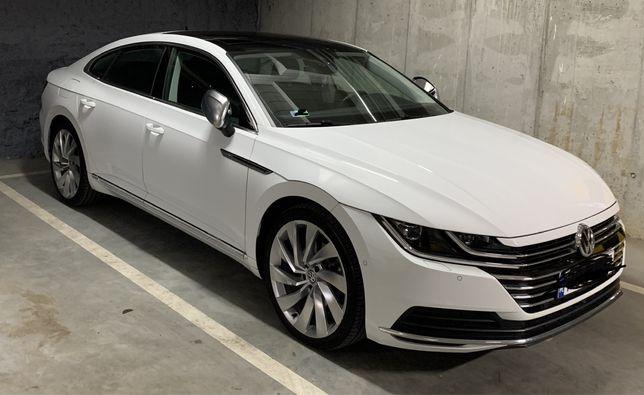 Auto do ślubu VW Arteon