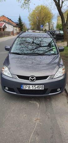 Mazda 5, benzyna 1.8, 230 tyś stan dobry