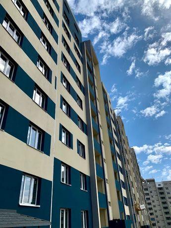 ЖК Победы-2, 1-к.кв., 48 кв.м., средний этаж, окна на 2 стороны!
