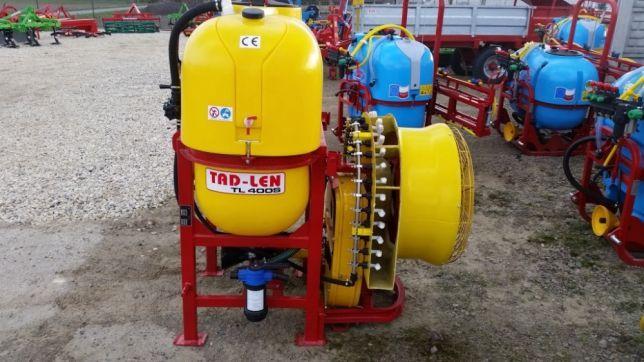 Opryskiwacz sadowniczy TL400 S TAD-LEN nowy. Monsum
