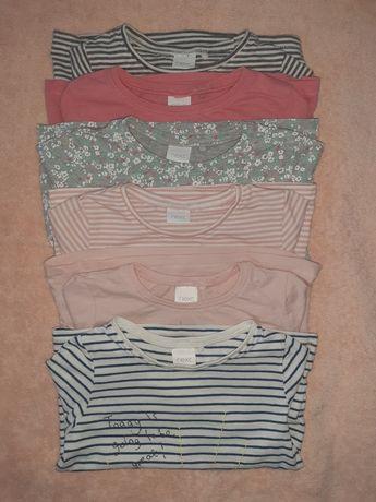 Набір светрів (кофти,футболки на довгий рукав) 12-18 місяців