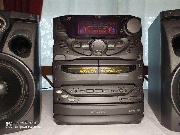 Wieża Kenwood XD-501 zmieniarka na 3 CD