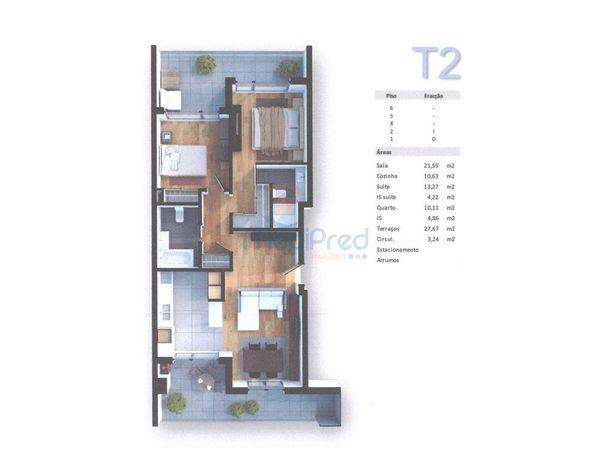 Apartamento T2 NOVO em Odivelas