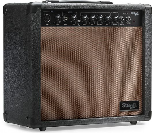 Combo Guitarra Acústica Stagg - 20 AA R EU