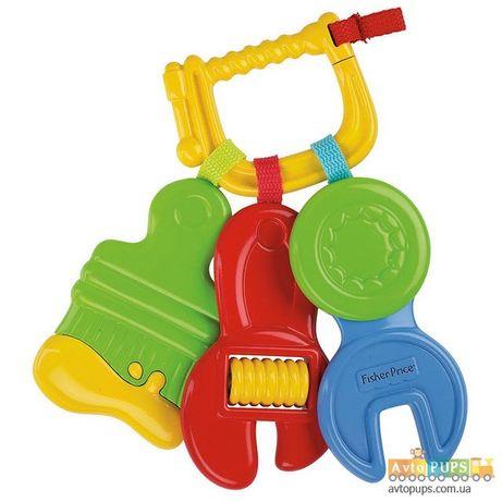 Погремушка прорезыватель ключики инструменты Fisher Price
