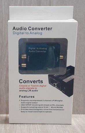 конвертер звука оптический to Analog (цифровой в аналоговый)
