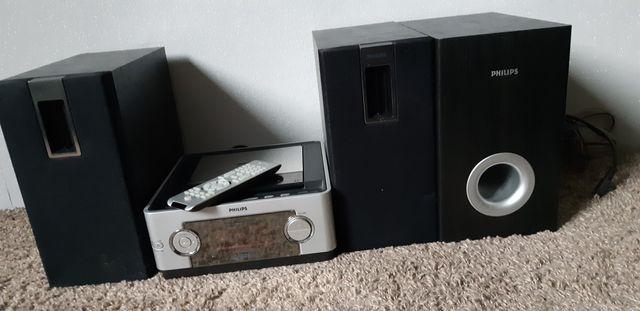 Wieża Philips z funkcją DVD