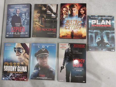 Filmy DVD thrillery
