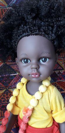 Кукла  африканка, 34 см