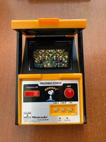 Consola Retro - Nintendo Snoopy Panorama Screen Game Watch com Caixa
