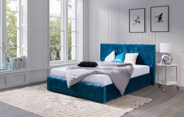 Łóżko tapicerowane 200x200 ADRIAN, OD PRODUCENTA, wybór kolorów
