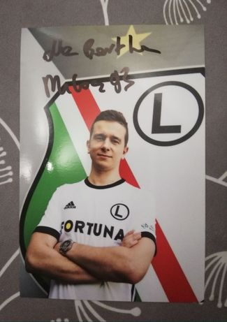 "Autograf zawodnika  Legiaesports  Milosz ""milosz93"" Bogdanowski"