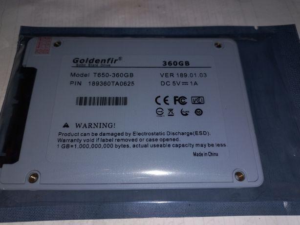 Новый SSD диск Goldenfir 360gb