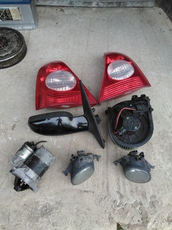 Рено Кліо 2 вентилятор пічки задні фонарі стартер зеркало