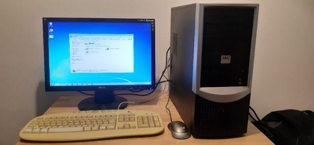 Desktop Computador MIC Completo - com wi-fi - como novo
