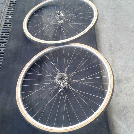 stare koła rowerowe