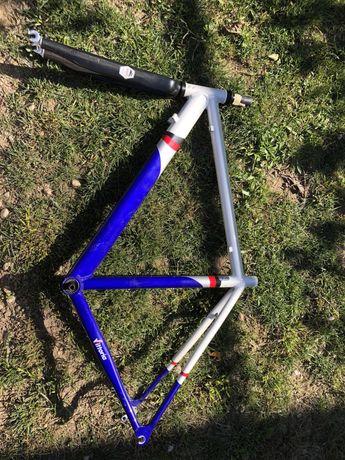 Quadro e forqueta bicicleta de estrada