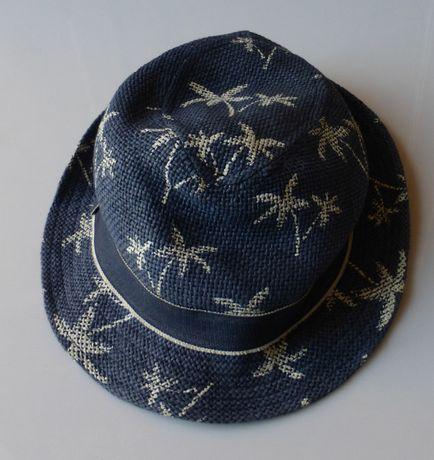 Kapelusik kapelusz na lato letni czapka 122 czapeczka 128 6-8lat H&M