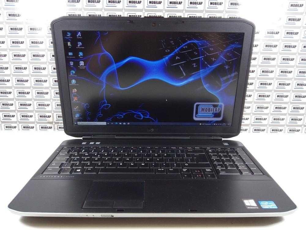 Laptop używany Dell E5530 i5 6 15,6' FHD 8GB 256 SSD Gwarancja FV