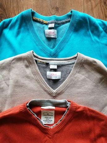 S.Oliver Tom Tailor sweterki 3 pak rozmiar m