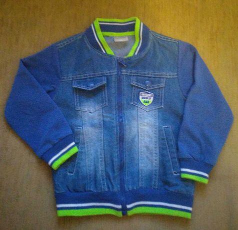 Куртка джинсовая,пиджак, курточка на мальчика ,92-98