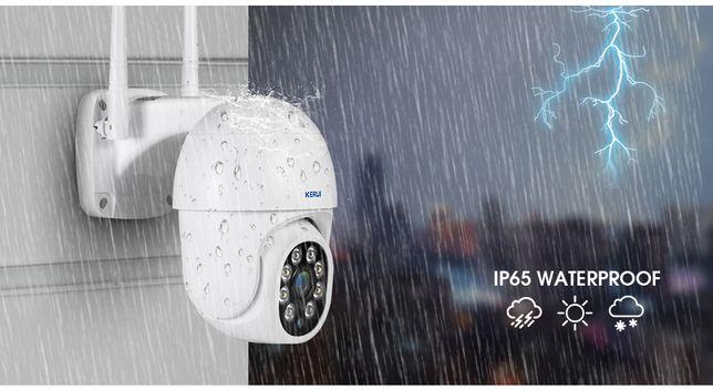 Уличная поворотная IP-камера Wi-Fi Kerui для наружного видеонаблюдения