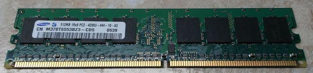 Samsung M378T6553BZ3-CD5, DDR2 DIMM 533 (PC2‑4200)
