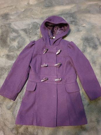 Fioletowy płaszcz