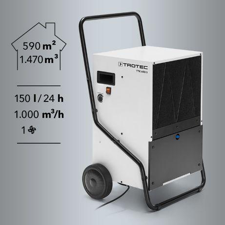 Przemysłowy osuszacz powietrza Samoobsługowy - wynajem Warto!