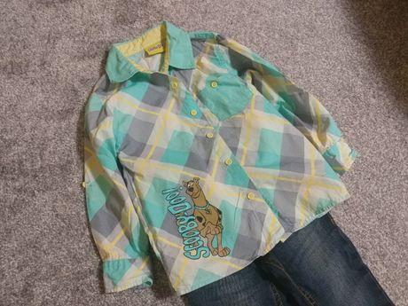 Продам джинсы рубашку на мальчика