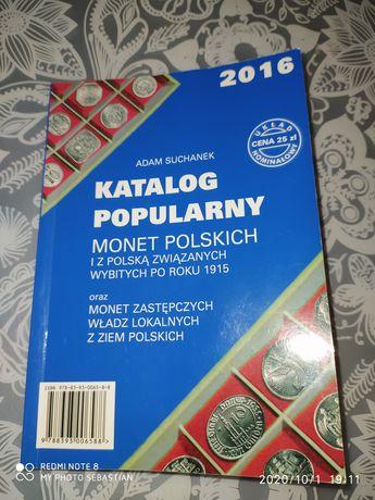 Katalog popularny monet polskich Suchanek 2016