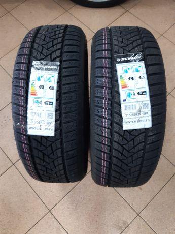 215/55R17 98V, Dunlop Winter sport 5 . Nowe! 2 szt.