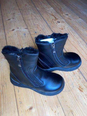 Ботинки новые кожа Lapsi зима 27 р