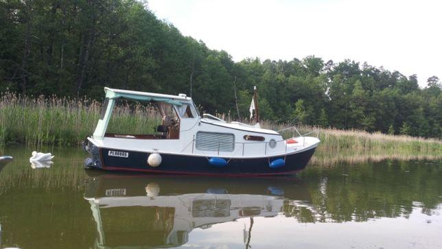 Jacht motorowy-Hausboot 830 z 1976r holenderski konstrukcja fryzyjska