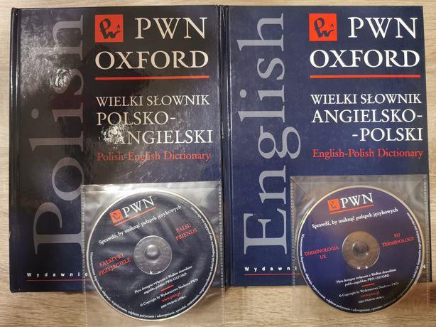 PWN OXFORD Wielki słownik pl-ang i ang-pl
