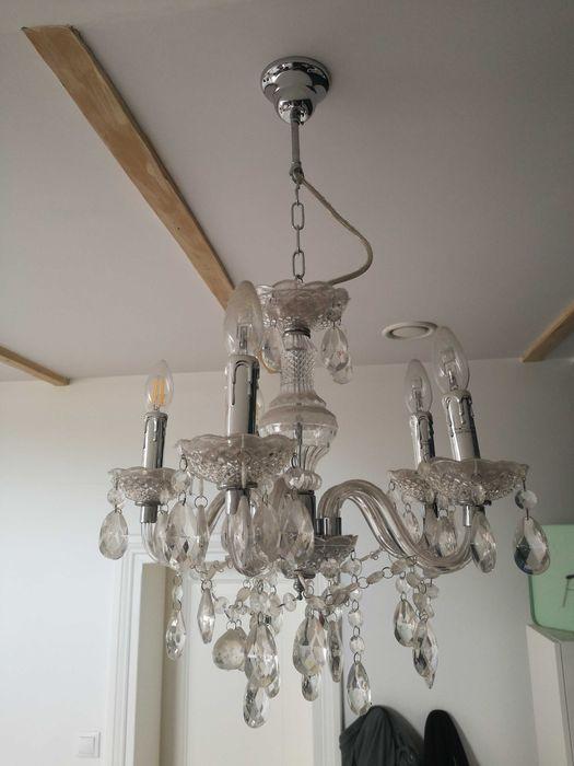 Lampa żyrandol 50cm 2szt Gdańsk - image 1