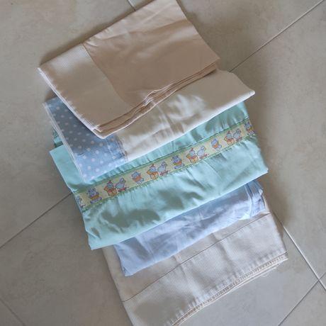 Lençóis cama grade +proteção