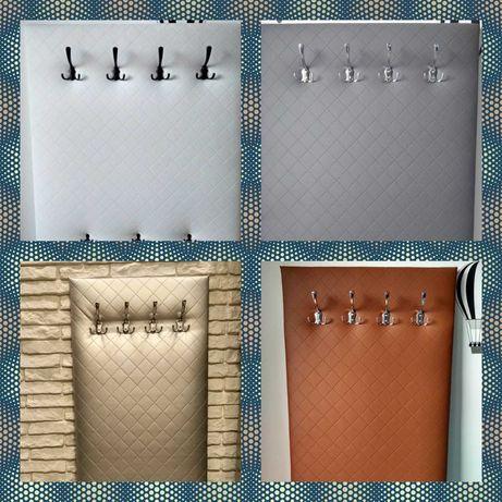 Wieszak ubraniowy tapicerowany panel